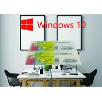 Buy cheap Windows Product Key Sticker Win 10 Pro COA X20 100% Online Activate 32/64bit OEM License Key Code from wholesalers