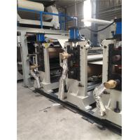 Cheap Blue ACP Machinery Panel Production Line 1200mm Height Easy Operating Energy for sale