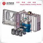 Best Acrylic Car Mirrors Vacuum Metalizing Machine , Logos and Signs Vacuum Metalizing Machine wholesale