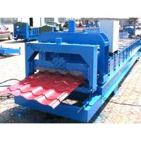 Best Color Steel Glazed Tile Roll Forming Machine with PLC Computer Control to Europe wholesale