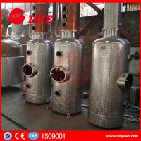 Cheap Copper Whiskey Still Copper Brewery Equipment 100L-5000L SUS304 M anual for sale