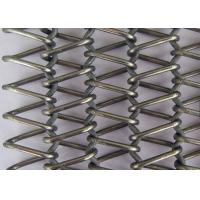 Best Stainless Steel Flat Wire Mesh Spiral Woven Decorative Mesh For Architecture wholesale