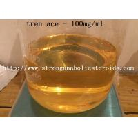 China Tren Ace Injectable Anabolic Steroids Trenbolone Acetate 100mg Yellow Oil Liquid on sale