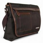 Best 13-inch Paris Laptop Messenger Bag, Measures 36.5 x 28.5 x 10cm, Made of 210D Poly/PU wholesale