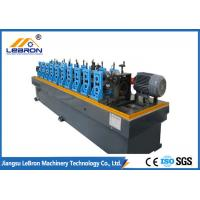 Best 10 Stations Steel Stud Roll Forming Machine 55mm Shaft With 0.05 Mm Hard Chrome wholesale