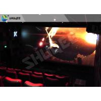 Best Children Amusement 4D Cinema Movie Theater With Electric System Motion Seat CE wholesale