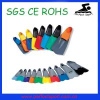 Cheap fashionable swimming flippers ,long swim fin for sale