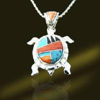 Best 925 Sterling Silver Animal Jewelry Semi Precious Pendant (PSN9137) wholesale