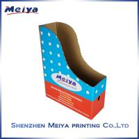 Best Note books counter top display stands , Supermarket corrugated pop displays advertising wholesale