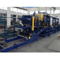 China Thickness 40-320mm EPS Sandwich Panel Machine High Speed Forming With 3KW Power on sale