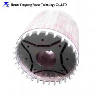 China High voltage permanent magnet motor stator rotor core on sale