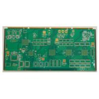 Best 4/3.5mil 1.6mm Immersion Gold FR4 8 Layer Rigid Flex Board / Custom PCB Board For Industrial Control wholesale