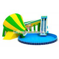 Best Multi Color Metal Frame Pools With Galvanized Steel Pipes Easy Assemble wholesale