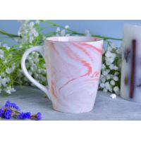 China Marble patterned ceramic candle holders ceramic mug sets for coffee or tea drinking on sale