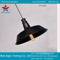 Best Industrial Retro Vintage Black Pendant Lamp Ceiling Light Home Lighting Fitting wholesale