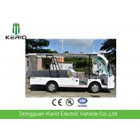 Best 4 Seats Electric Utility Cargo Cart With Hydraulic Tail Lift 1000kg Payload wholesale