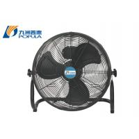 Best Modern Portable Electric Table Fan Low Noise Black Color For Home / Office wholesale
