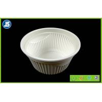Best Eco Friendly Cornstarch Biodegradable Plastic Container , Food Trays wholesale