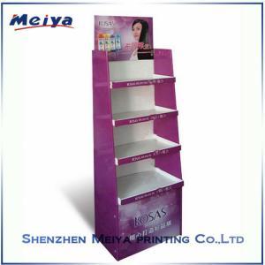 Best Multi Tier Retail Cardboard Floor Displays POP Display Racks for Shampoo wholesale