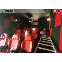 Best 9D Cinema Simulator XD Theatre With 360 Degree VR Glasses / Motion Chair wholesale