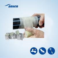Best ANSEN high hardness Water-activated fiberglass polyurethane resin armored fix repair wrap tape wholesale
