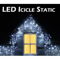 Icicle String Lights Outdoor : Details of 4m 122LED outdoor white led icicle string lights - 99258750