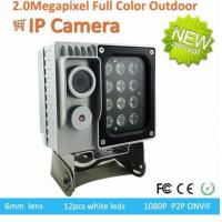 Quality Full Color Starlight Traffic Surveillance Cameras P2P ONVIF 1080p 0.0001Lux F1.2 wholesale
