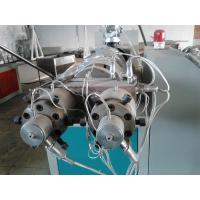 PVC Twin Screw Plastic Pipe Extrusion Line , Pipe Extruder Machine