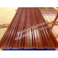 Best Plastic PVC heat and sound insulation corrugated roof tile roofing panel wholesale