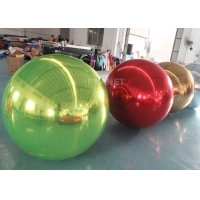 Best Large PVC Inflatable Reflective Ball Inflatable Sphere Mirror Balloon For Party Event wholesale