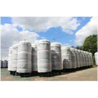 Best Ethanol / CNG Compressed Air Storage Tank , 8mm Thickness Air Compressor Holding Tank wholesale