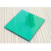 Best Unbreakable Polycarbonate Panel Green Color For Underground Garage Exit wholesale