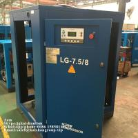 Best Oil Injected 45kw 8bar Belt Driven Rotary Screw Air Compressor For Bottle Blower wholesale