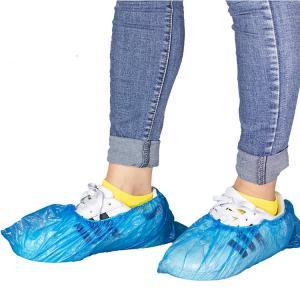 Best Non Skid Disposable Shoes Cover , Dust Proof PP PE Non Woven Shoe Cover wholesale