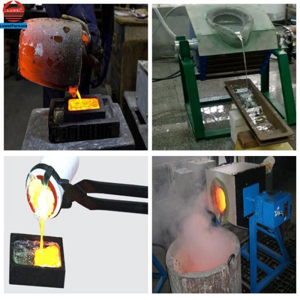 Portable 50kg scrap copper small Smelting induction melting furnace