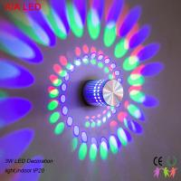 Best 3W interior RGB modern LED wall light/LED decoration light  for corridor and for showroom used wholesale