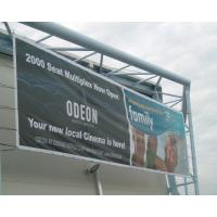 Cheap SGS Promotional Mesh Vinyl Banner Great For Windy Outdoor Locations for sale