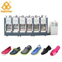 Best Automatic EVA Slipper Garden Shoes Making Machine with 6 Stations wholesale