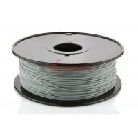 Cheap Ultimaker 3D Printer PLA Filament 1.75MM Silver , ABS / HIPS Filament for sale