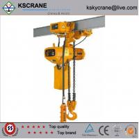 Best 1ton electric chain hoist with manual trolley wholesale