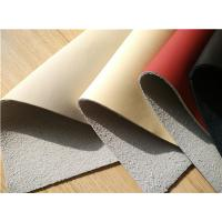 Cheap 25 Meters Length Eco Friendly Leather , Nappa Surface Car Leather Upholstery wholesale