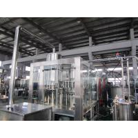 Best Hot Tea 8000Bph Monoblock Liquid Filling Machine With PLC Control wholesale