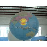 Best 7ft Diameter Inflatable Advertising Helium Earth Balloons Globe for Political events wholesale