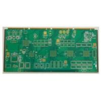 Best 1.6m 4 MHz 8 Layer Immersion Gold 0.2mm Rigid  PCB Boards Assembly For lighting wholesale