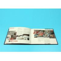 Cheap 400gsm Hardcover Book Printing For Catalogue / Brochure / Magazine for sale