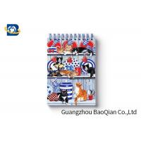 Best Spiral Binding 3D Lenticular Personalised Stationery Notebooks Cartoon Pet Hardcover wholesale