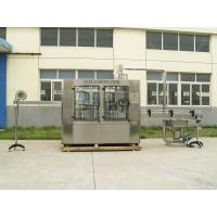 China 12000BPH Carbonated Glass Bottle Filling Machine For Tea , Fruit Juice on sale