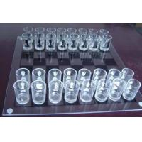 Best Glass Chess Set,White Glass Chess Game,Large Glass Chess Set wholesale