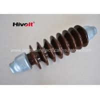 Cheap 46 KV Station Post Insulators , Suspension Type Insulator Self Cleaning for sale