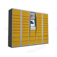 Best Customized Self service touchscreen Post Parcel Delivery Electronic Locker with barcode scanner and coin acceptor wholesale